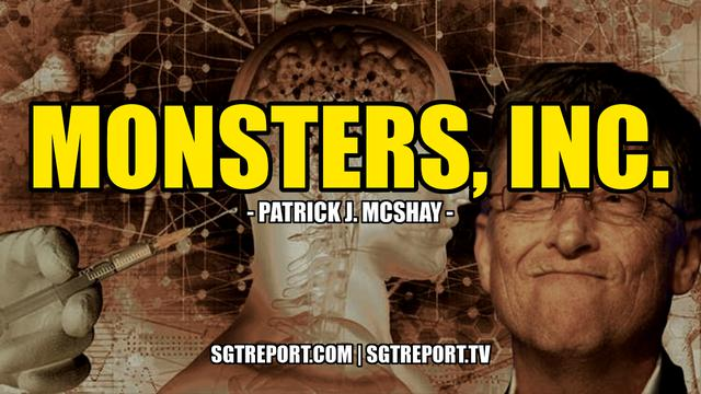 Monsters, Inc & Mark of the Beast Vaccines - Patrick J. McShay - SGT Report Must Video