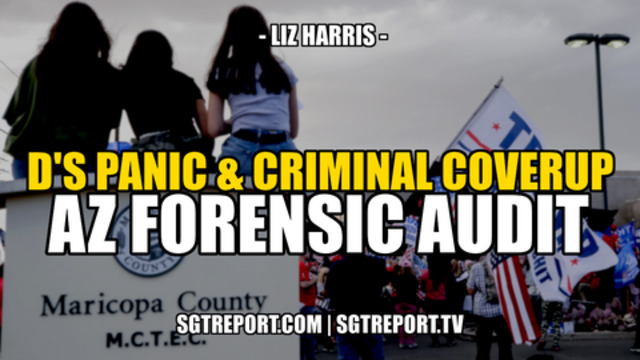 Democrats Panic & Criminal Cover-Up With AZ Forensic Audit!! - Liz Harris - SGT Report Must Video