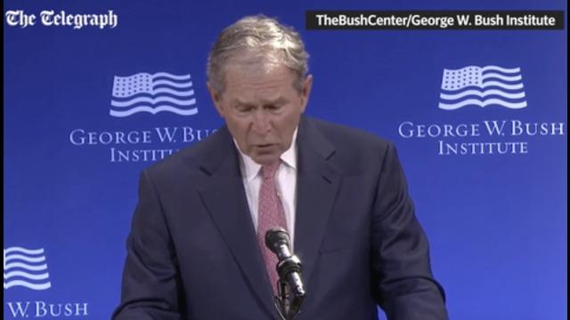 bush ist ein fuck up