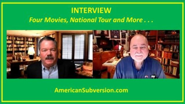 Robert David Steele: American Subversion Interviews On Four Movies, National Tour, & More! - Must Video