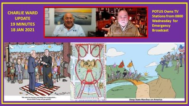 Robert David Steele: Charles Ward Update! All In Hand, POTUS Owns TV Stations From 0800 January 2021! - Must Video