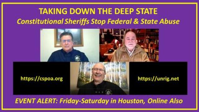 Robert David Steele: Constitutional Sheriffs Open Meeting & Membership to All -- Learn More! - Great Video