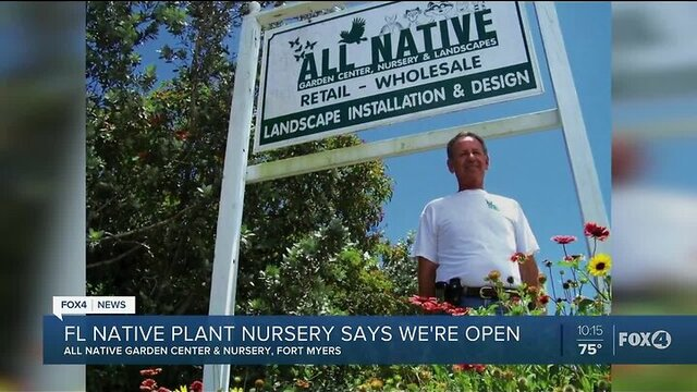 Florida Native Nursery Has Plants That