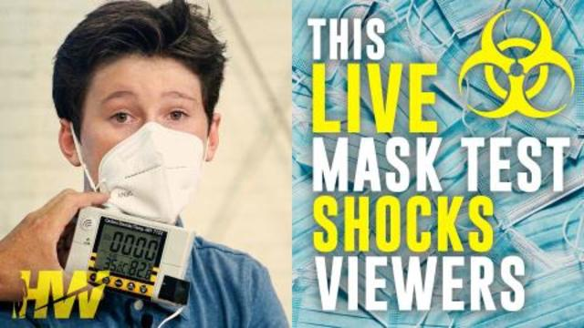 This Live Mask Test Shocks Viewers