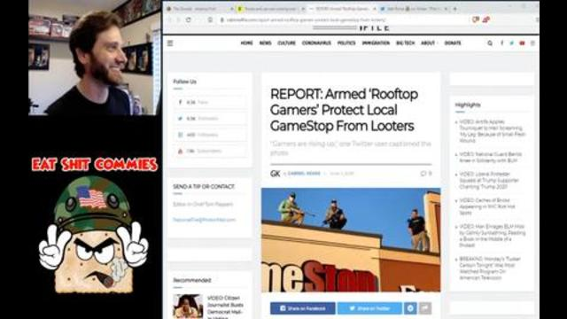 Gamestop Is Protected By Rooftop Gamers