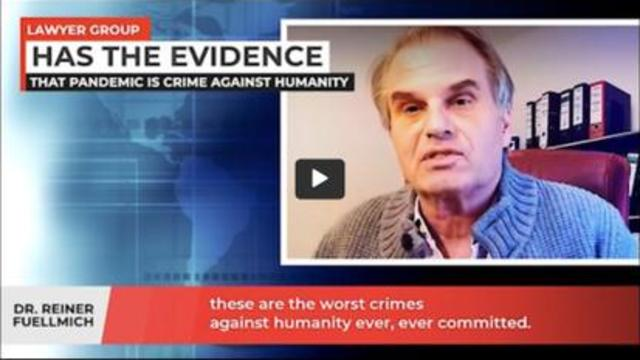 Dr. Reiner Fuellmich: Scientific Evidence that COVID is a crime against humanity