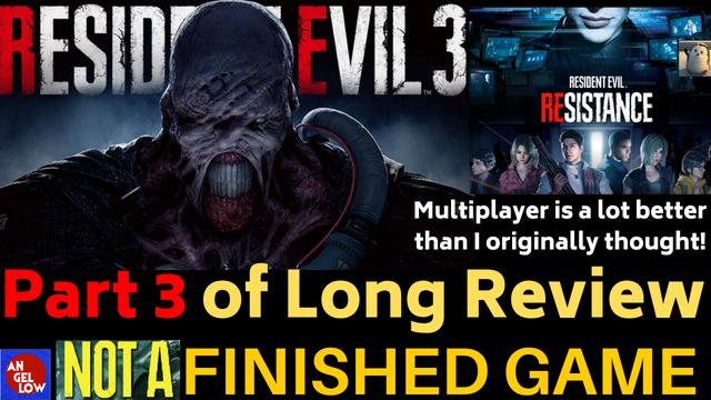 Resident Evil 3 Remake Final Part 3 Of Long Review And Comparison Final Score And End Thoughts