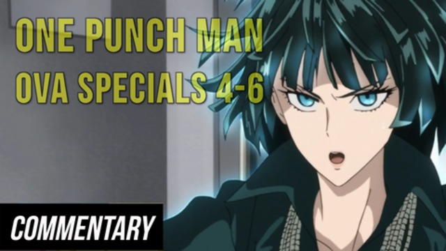 Blind Reaction One Punch Man Ova Specials 4 6