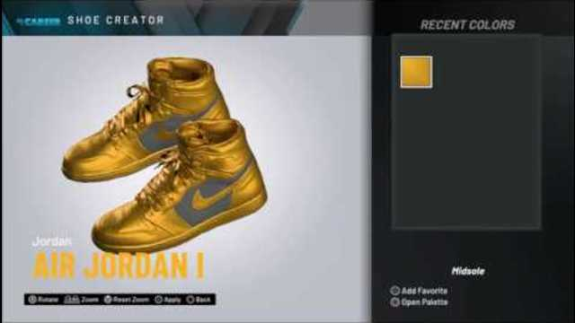 NBA 2K20 2K Kicks Custom Colorway