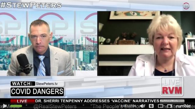 "Dr. Sherri Tenpenny mit explosiven Fakten in der ""Stew Peters Show"""