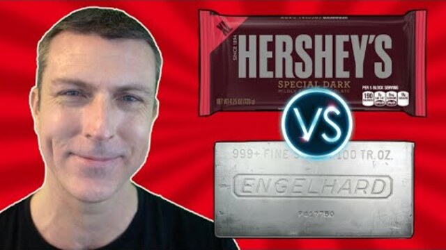 Proof Most Americans Are Financially Illiterate… Free $2000 Bar of Silver Bullion? Or a Free Chocolate Bar? (Social Experiment)