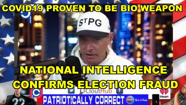US National Intelligence Confirms China Behind Election Fraud & Fake Pandemic! - Must Video