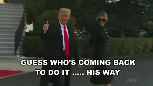 Guess Who's Coming Back! To Do it His Way! Must See Video With Production/Editing