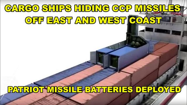 Thousands of Chinese Missiles Hiding Off US East & West Coast Ready to Attack!? - Must Video