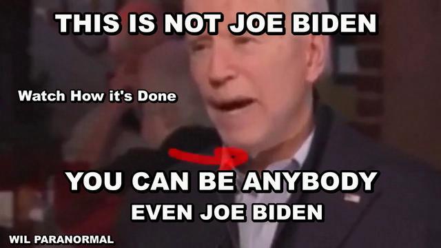 It Is Not Joe Biden You're Seeing! Watch The Indisutable Proof! - Must Video