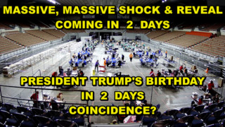 Massive Shock & Reveal Coming to Mankind! Trump's Birthday June 14th! Audit Complete! Coincidence? - See Video