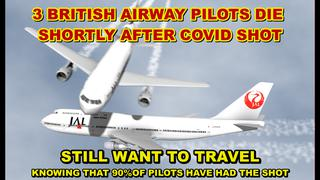 3 British Pilots Die In 3 Days! Airlines New Crisis Whether To Ban Vaccinated Pilots From Flying? - Must Video
