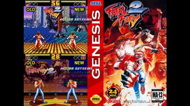 Action Extreme Gaming Fatal Fury 2 Enhanced Colors Rom Hack Fatal Fury 2 Sega Genesis Port