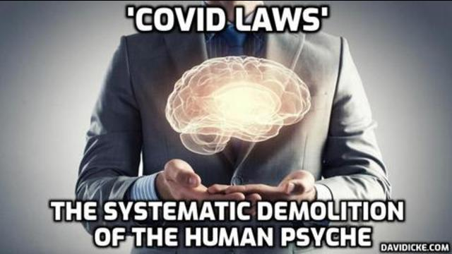 David Icke: 'Covid laws' are systematic demolition of human psyche