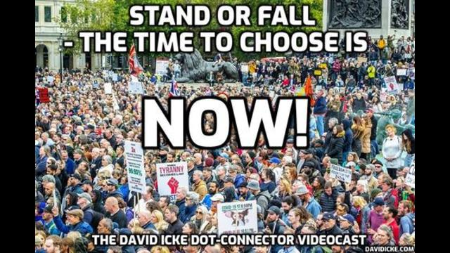 New David Icke: Stand Or Fall! The Time To Choose Is Now! Must See Dot-Connector Videocast