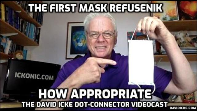 The First Mask Refusenik – How Appropriate – David Icke Dot Connector