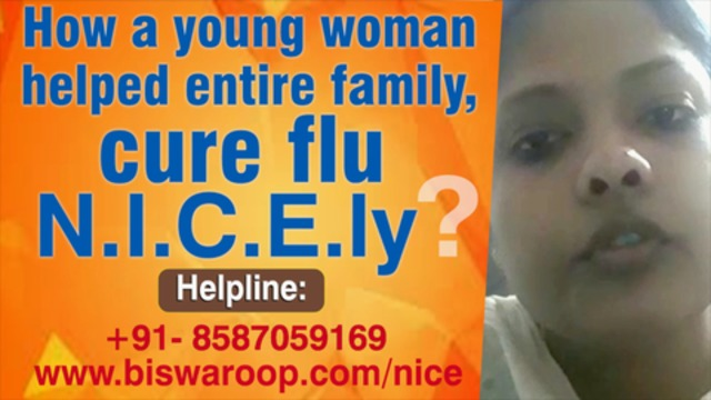 HOW A YOUNG WOMAN HELPED ENTIRE FAMILY CURE FLU N.I.C.E.ly